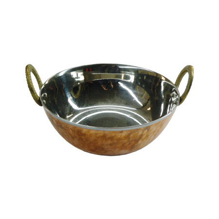 Karahi Copper Bottom 2 Portion