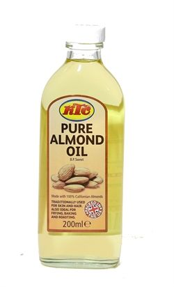KTC Pure Almond Oil 200ml