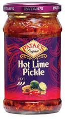 Patak's Pickle Lime Hot 283g