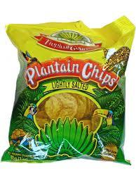 PLANTAIN CHIPS SALTY