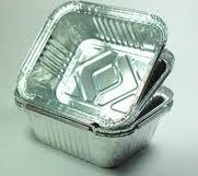 ALUMINUM FOOD CONTAINER NO. 2