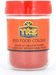 TRS FOOD CLR RED 25g